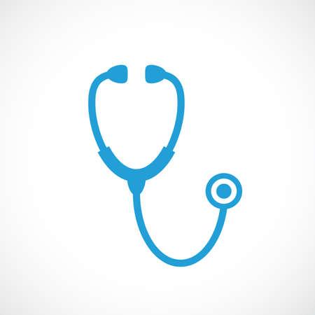 Illustration pour Stethoscope icon - image libre de droit