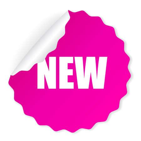 Illustration pour New vector sticker - image libre de droit