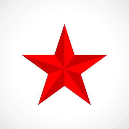 Illustration pour Red vector star - image libre de droit