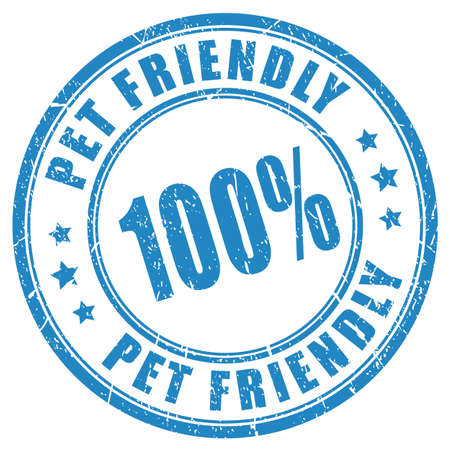 Pet friendly assurance stamp