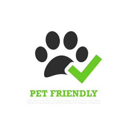 Pet friendly vector