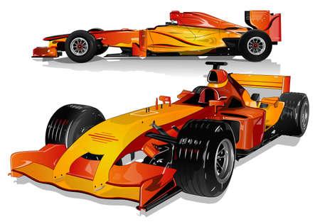 Ilustración de the beauty of the car 3 - Imagen libre de derechos