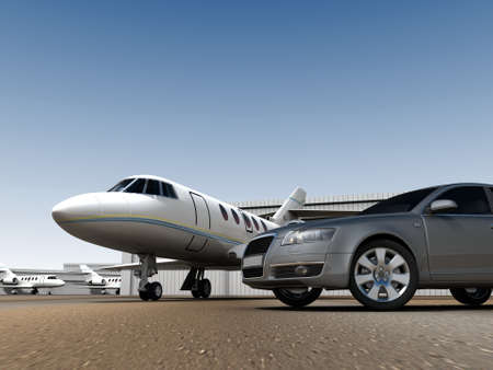 Photo pour Luxury Transportation - image libre de droit