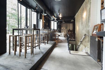 Photo pour stairs in restaurant interior - image libre de droit