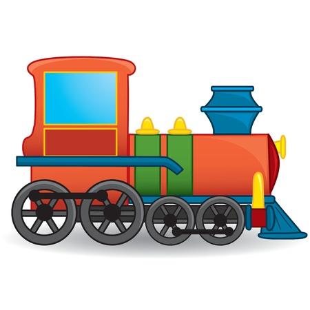 Train toy  Vector