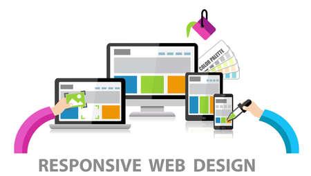 Foto de Responsive Web Design - Imagen libre de derechos