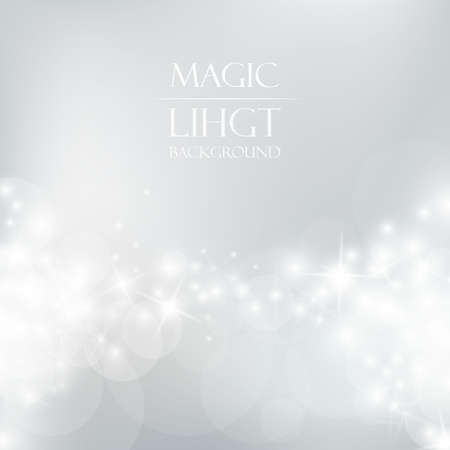 Ilustración de Magic Light Background - Imagen libre de derechos