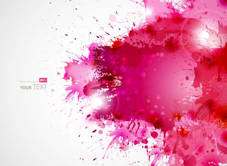 Foto de Abstract artistic Background forming by blots  - Imagen libre de derechos