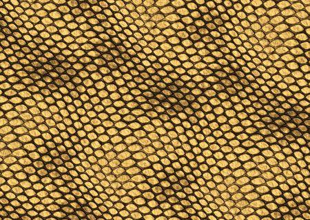 Realistic reptile skin illustration, decorative background texture