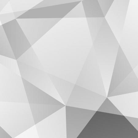 Photo pour Abstract Grey Geometric Background - image libre de droit