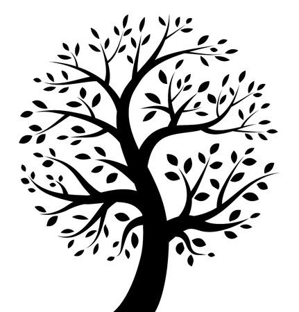 Photo for Black Tree icon - Royalty Free Image