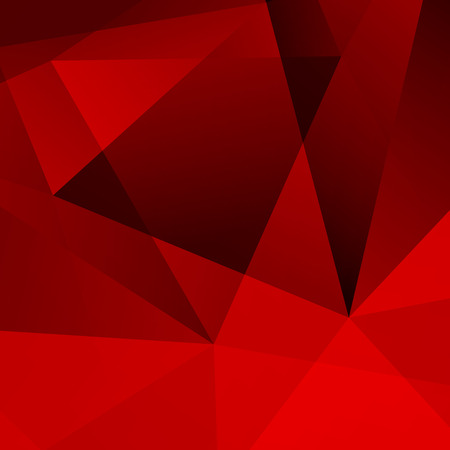 Illustration for Abstract Dark Red Geometric Background  - Royalty Free Image
