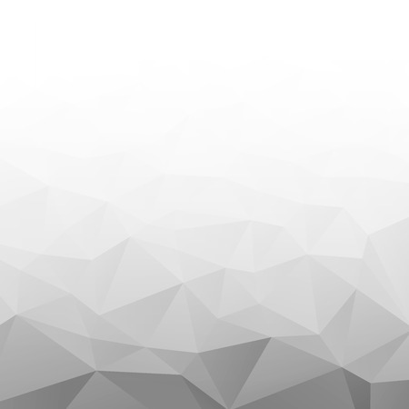 Ilustración de Abstract Gradient Gray White Geometric Background. - Imagen libre de derechos