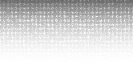 Illustration pour Abstract Gray Technology Horizontal Background - image libre de droit