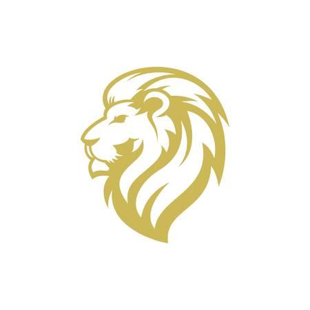 Ilustración de lion logo design - Imagen libre de derechos