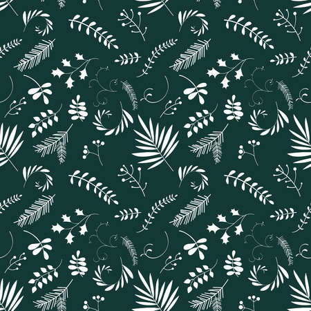 Ilustración de Floral seamless pattern. Art can be used for packing, wallpaper, background. - Imagen libre de derechos