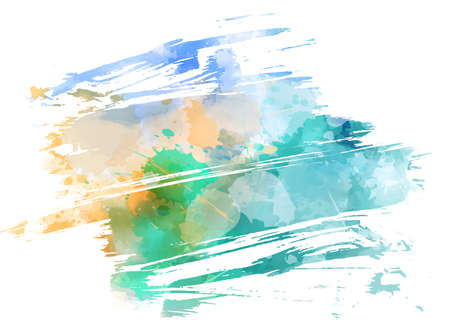Illustration for Abstract multicolored brushed grunge background - Royalty Free Image