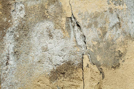 Foto de Old grunge textures wall with crack. Perfect background with space. - Imagen libre de derechos