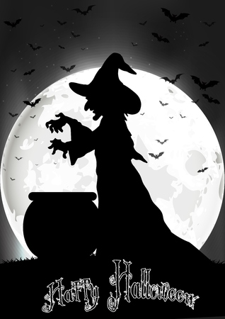 Photo for The witch cooks on the full moon - Royalty Free Image