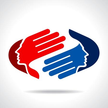 Ilustración de business concept icon - Imagen libre de derechos
