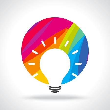 Illustration pour colourful idea - image libre de droit