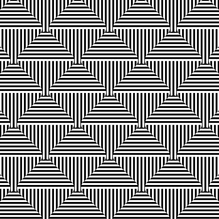 Illustration pour Abstract geometric seamless pattern - image libre de droit