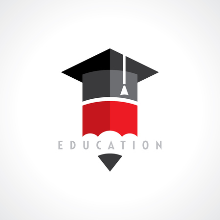 Foto de Education symbol concept, vector - Imagen libre de derechos