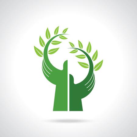 Illustration pour environmental care vector - image libre de droit