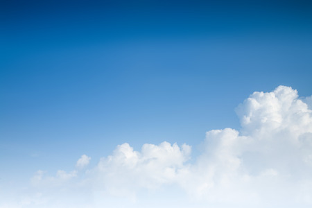 Photo for blue sky background with clouds - Royalty Free Image