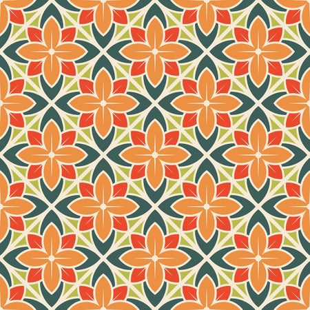 Illustration pour Seamless flower pattern. Vector illustration - image libre de droit