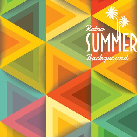 Foto de Summer holidays illustration  summer background - Imagen libre de derechos