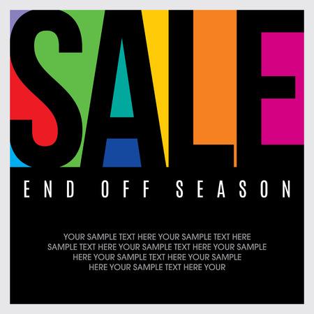 Illustration pour sale shopping background and label for business promotion - image libre de droit