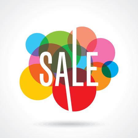 Illustration pour Sale design template vector - image libre de droit