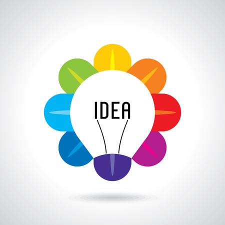 Illustration pour multicolor business idea vector - image libre de droit