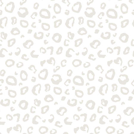 Illustration pour Vector animal leopard skin texture print seamless pattern - image libre de droit