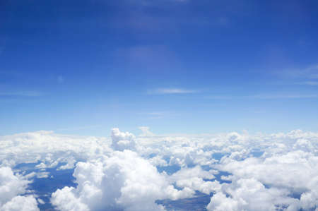 Foto de Sky and Cloud view on the plane - Imagen libre de derechos