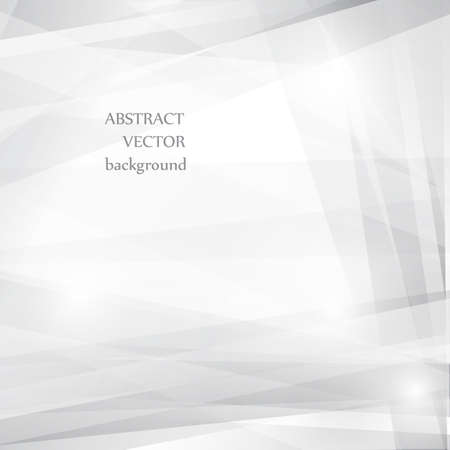 Grey abstract background for design. Vector