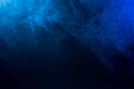 Photo pour Abstract blue Fog/Smoke Texture - image libre de droit
