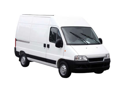 Photo pour Delivery van - image libre de droit