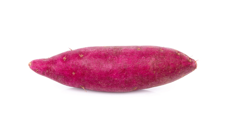 Photo for sweet potato on the white background - Royalty Free Image