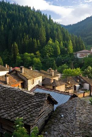The ancient village of Shiroka Loka in Bulgaria
