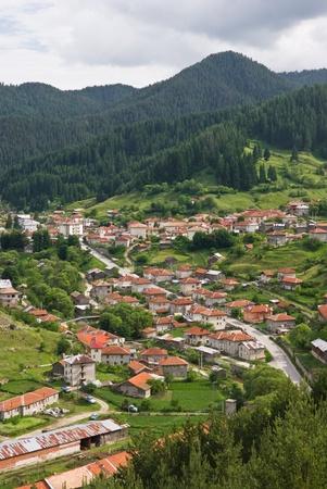 The old mountain village of Trigrad, Bulgaria
