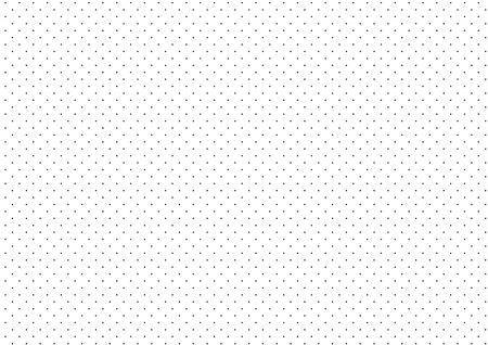 Illustration pour Black Dots White Background Vector Illustration - image libre de droit