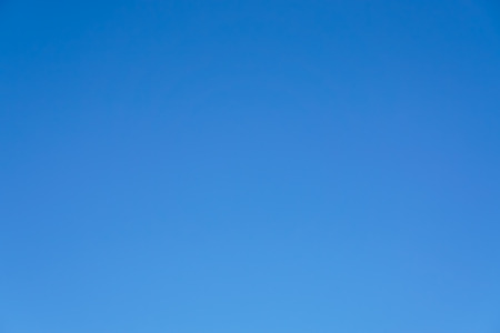 Foto de Clear blue sky only no cloud and sunshine background. - Imagen libre de derechos