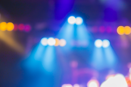 Photo for blurred background of night bokeh light,abstract texture background concert light background illumination,Blurred stage lights a rock concert,Stage spotlights,vintage color - Royalty Free Image