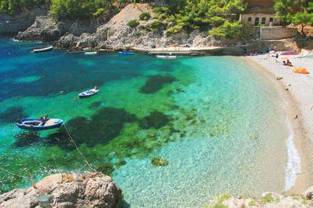 Photo for Beach on Island Mljet in Croatia - Royalty Free Image
