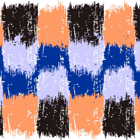 Ilustración de grunge pattern in four color - Imagen libre de derechos