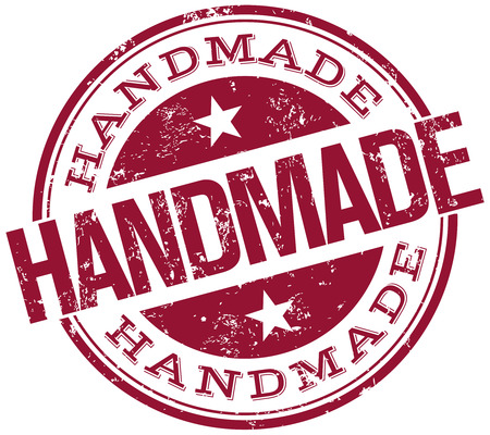 Illustration for handmade stamp - Royalty Free Image