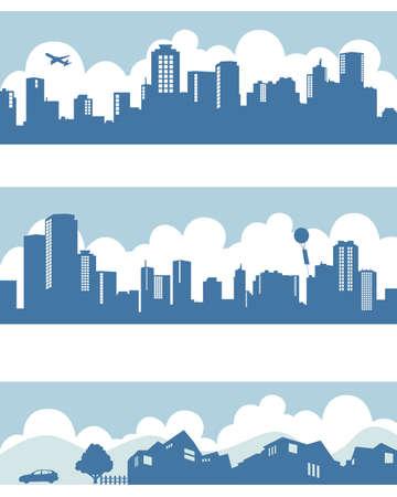 Foto de town and city - Imagen libre de derechos