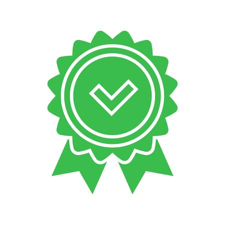 Illustration pour Approval check icon - image libre de droit